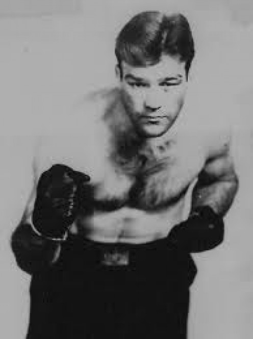 Slapsie Maxie Rosenbloom lacked power but he was an excellent boxer and a former Light Heavyweight King.