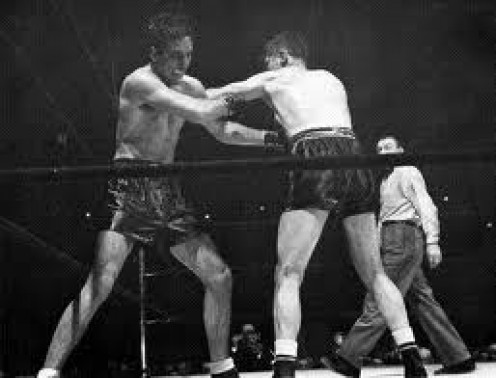 Billy Conn beat Tony Zale by knockout.