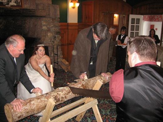 Traditional German Wedding Game