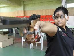 Rahi, in her shooting practice