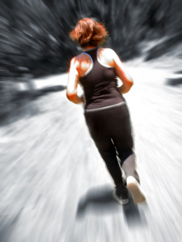 A quick jog around the block is also a great way to burn some time during your lunch break.