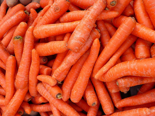 Tasty healthy Carrots