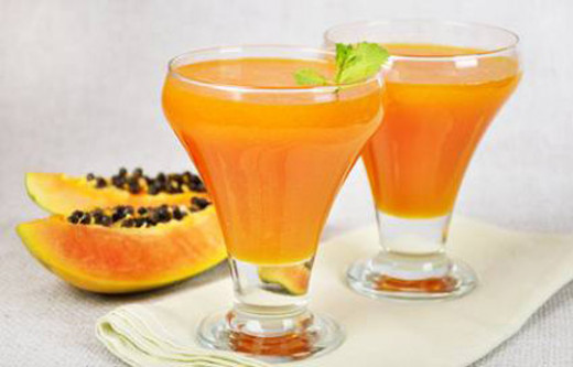 Papaya and Mango Drink