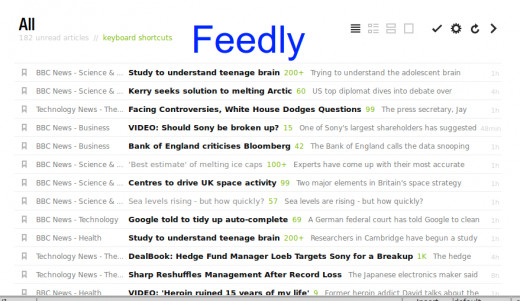 Feedly is an excellent RSS Aggregator