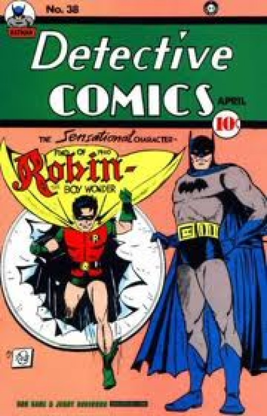 The Boy Wonder makes his debut in Detective Comics # 38, one of the worlds most valuable comics.