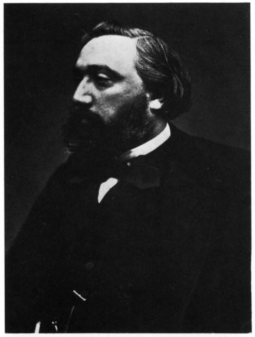 Léon Gambetta photographed by Félix Nadar