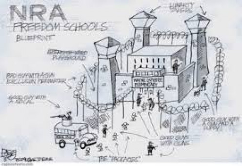 THE NRA SOLUTION TO SCHOOL SECURITY