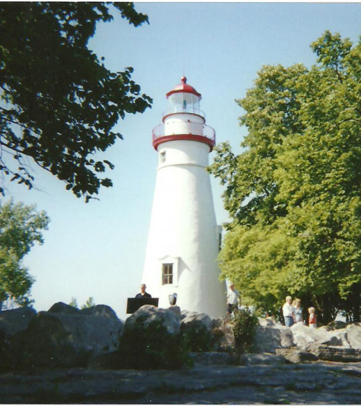 Lake Erie, Ohio/Marblehead Lighthouse State Park