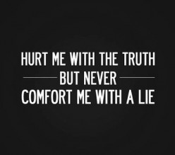 Poem: Be my truth!