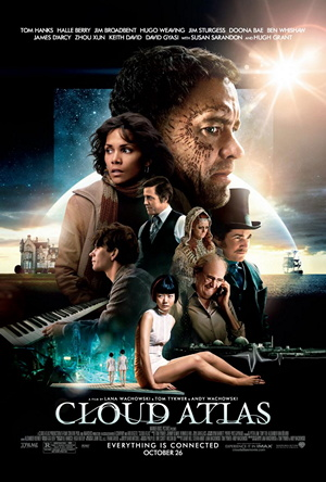 The official movie poster for Cloud Atlas.