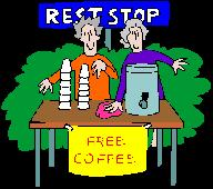 After you vote, encourage others to stand in line with free coffee.  Can't run?  Can't write a check?   Volunteer for a supportive role to make a fund raiser happen