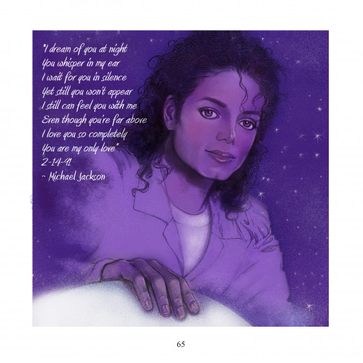 Illustration by Mimi O'Garren, Poem by Michael Jackson