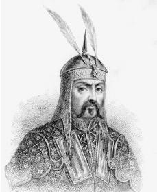 One feather in Genghis Khan's cap is for murder, and the other one is for scoring with chicks.