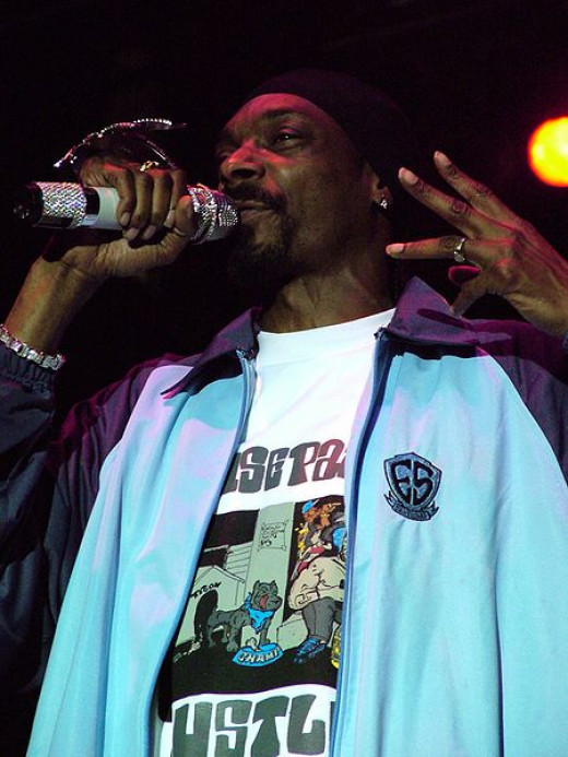 Snoop Dogg at Concert