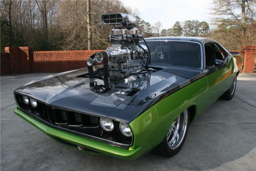 Highly modified Hemi