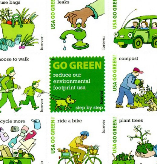 There are many ways to strive for sustainability