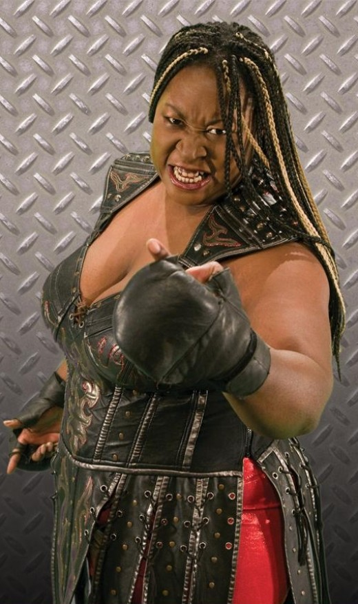 Former TNA Knockout, Awesome Kong