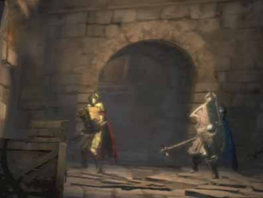 Dragon's Dogma Dark Arisen Defeat the Golden and Silver Knights at the Forsaken Cathedral