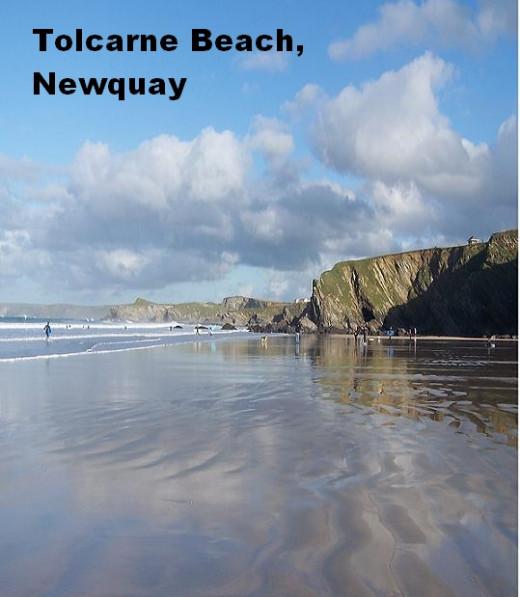 Beachside Restaurants in Newquay, Cornwall: Tolcarne Beach