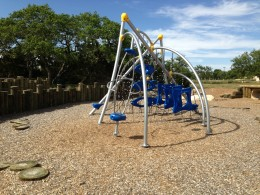Children's Play Ground - Veterans Memorial Playgrounds & Picnic Area - Cedar Park TX