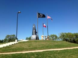 Veterans Memorial Monument in Cedar Park Texas