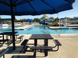 Cedar Park TX Memorial Park  - Covered Picnic areas
