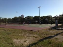 Cedar Park TX Memorial Park  - Basket  Ball Courts