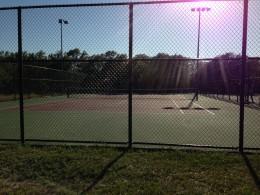 Cedar Park TX Memorial Park  - Tennis Courts