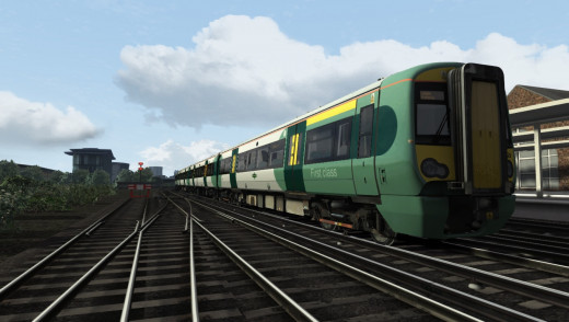Class 377 Electrostar is stunning in Train Simulator 3