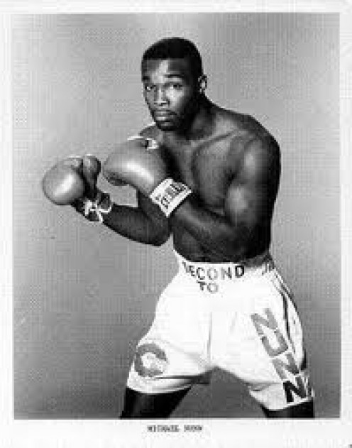 "Michael ""Second To"" Nunn was a former Middleweight and Super Middleweight Champion"
