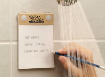 Aqua Notes - Waterproof Shower or Bath Notebook