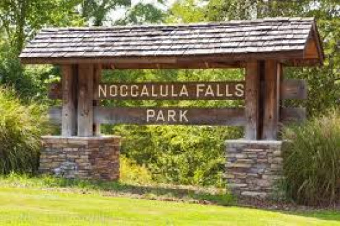 Noccalula Falls has train rides, mini golf and even a camping ground. Not to mention a food court and a gift shop that is open at designated times throughout the year.