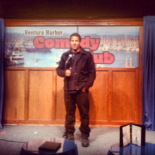 Me, performing in Ventura, CA