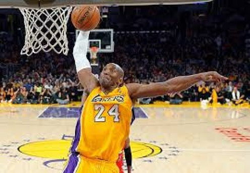 Kobe Bryant has a great inside gam that features speed and great movement.