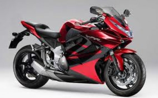 Honda VFR1000F- One of the motorbikes from Honda.
