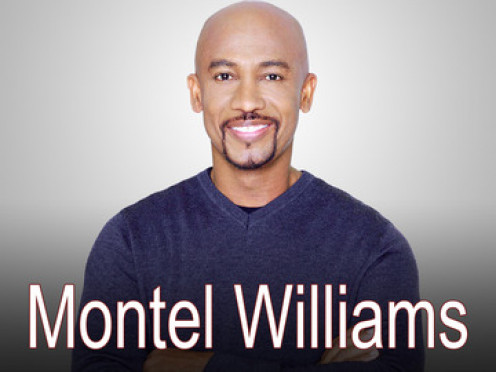 Montel Williams always tackled tough issues such as : abortion and drugs.
