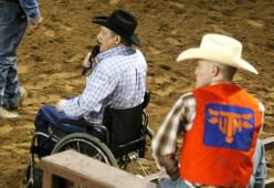 David Pruitt, Auctioneer UTM Rodeo Team