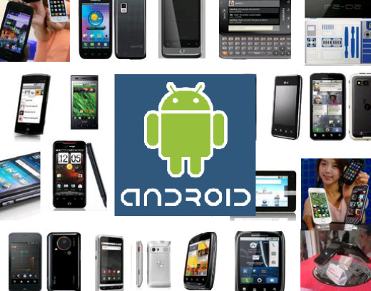 Android offers a large variety of form factors.
