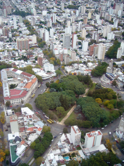 La Plata. I'm pretty sure I walked around this area. Should have kept a notebook!