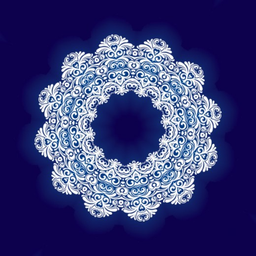 Snow Mandala - Mandala Art HD