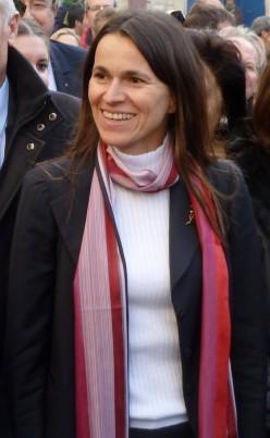 Aurelie Fillippetti, at Arles, 2013