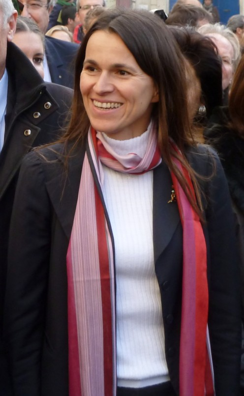Aurelie Fillippetti, at Arles, 2013