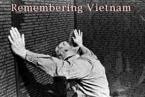 Vietnam soldiers will never be forgotten.The Wall in Washington, D.C. assures that.
