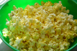 Is the popcorn at the movie theater much better than home popped or microwave popcorn?