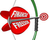 financial freedom only for the wealth
