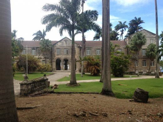 Codrington College from the approach