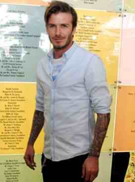 Public Domain Does Beckham look good as a Doctor?