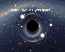 Black Hole in Cyberspace