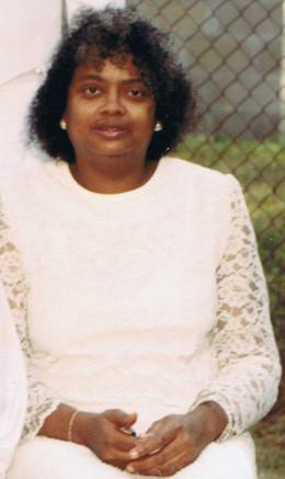 My mom in 1986