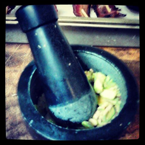 My Mortar and Pestle
